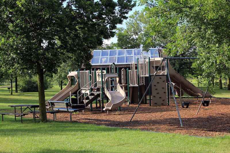 Playground Wood Chips: Mulch and More
