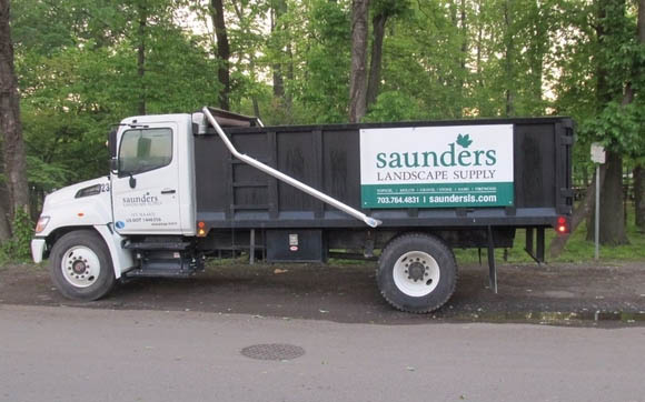 Free delivery of landscaping supplies